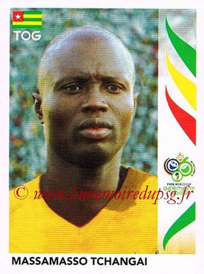 2006 - Panini FIFA World Cup Germany Stickers - N° 520 - Massamasso TCHANGAI (Togo)