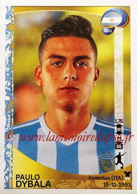 Panini Copa America Centenario USA 2016 Stickers - N° 323 - Paulo DYBALA (Argentine)