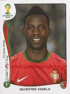 2014 - Panini FIFA World Cup Brazil Stickers - N° 522 - Silvestre VARELA (Portugal)