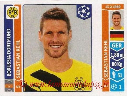 2014-15 - Panini Champions League N° 284 - Sebastian KEHL (Borussia Dortmund)