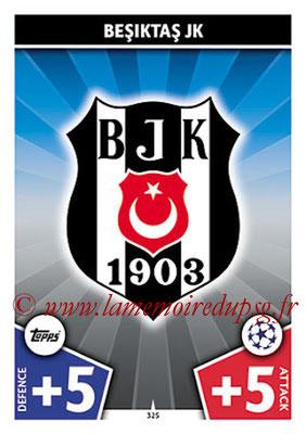 2017-18 - Topps UEFA Champions League Match Attax - N° 325 - Logo Besiktas JK (Club Badge)