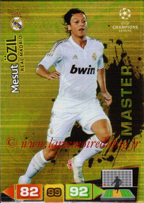2011-12 - Panini Champions League Cards - N° 347 - Mesut OSIL (Real Madrid CF) (Master)