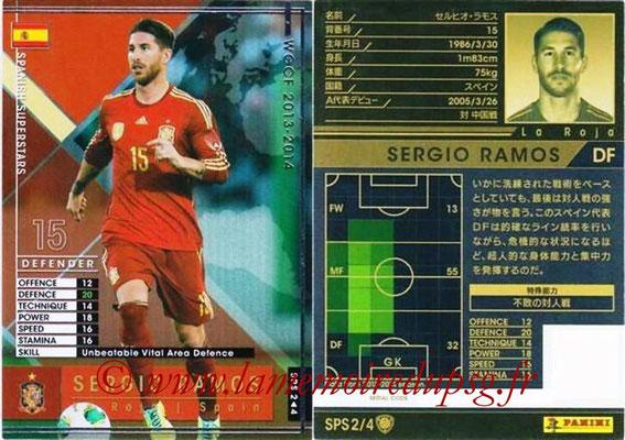 2013-14 - WCCF - N° SPS2 - Sergio RAMOS (Espagne) (Spanish Superstars)