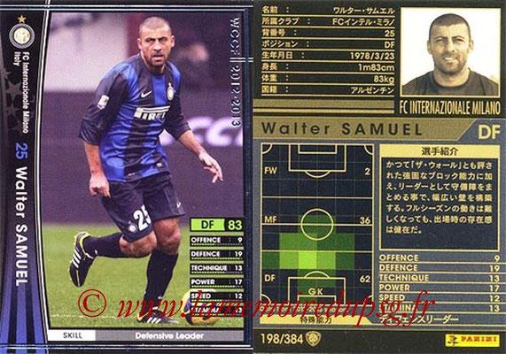 2012-13 - WCCF - N° 198 - Walter SAMUEL (Inter Milan)
