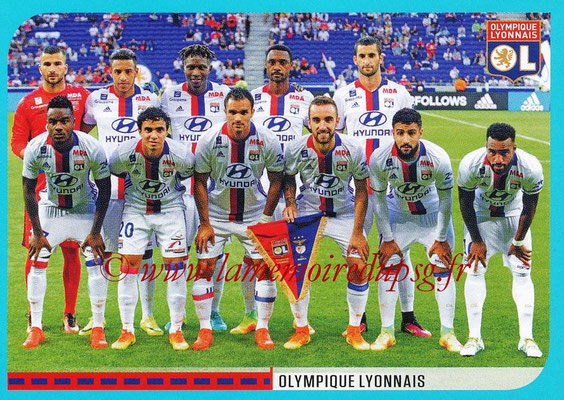 2016-17 - Panini Ligue 1 Stickers - N° 340 - Equipe Lyon