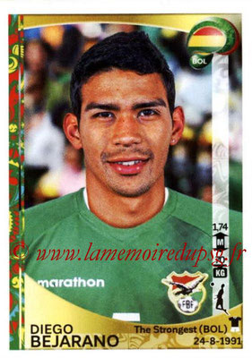 Panini Copa America Centenario USA 2016 Stickers - N° 385 - Diego BEJARANO (Bolivie)