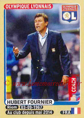2015-16 - Panini Ligue 1 Stickers - N° 198 - Hubert FOURNIER (Olympique Lyonnais) (Coach)