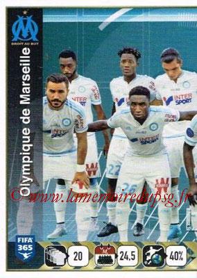 2015-16 - Panini FIFA 365 Stickers - N° 417 - Equipe Olympique de Marseille 1