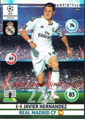 2014-15 - Adrenalyn XL champions League Update edition N° UE076 - Javier HERNANDEZ (Real Madrid)