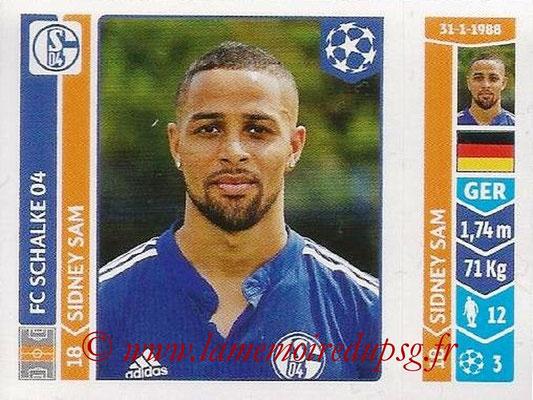 2014-15 - Panini Champions League N° 514 - Sidney SAM (FC Schalke 04)