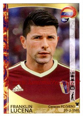 Panini Copa America Centenario USA 2016 Stickers - N° 283 - Franklin LUCENA (Venezuela)