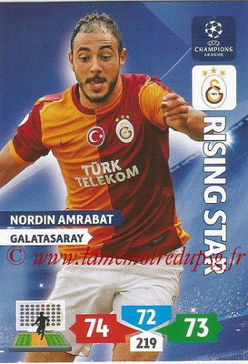 2013-14 - Adrenalyn XL champions League N° 141 - Nordin AMRABAT (Galatasaray AS) (Rising Star)