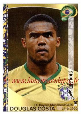 Panini Copa America Centenario USA 2016 Stickers - N° 125 - Douglas COSTA (Brésil)
