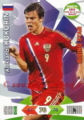 2014 - Panini Road to FIFA World Cup Brazil Adrenalyn XL - N° 165 - Aleksandr KOKORIN (Russie) (Rising Star)