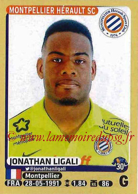 2015-16 - Panini Ligue 1 Stickers - N° 267 - Jonathan LIGALI (Montpellier Hérault SC)