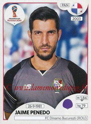 2018 - Panini FIFA World Cup Russia Stickers - N° 534 - Jaime PENEDO (Panama)