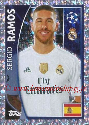 2015-16 - Topps UEFA Champions League Stickers - N° 035 - Sergio RAMOS (Real Madrid CF)