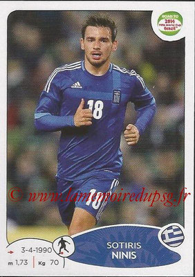 2014 - Panini Road to FIFA World Cup Brazil Stickers - N° 279 - Sotiris NINIS (Grèce)