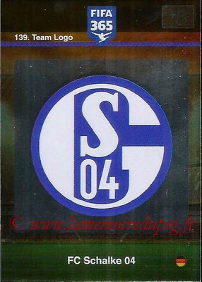 2015-16 - Panini Adrenalyn XL FIFA 365 - N° 139 - Ecusson FC Schalke 04 (Team Logo)