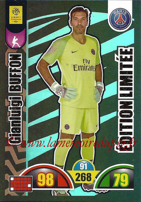 2018-19 - Panini Adrenalyn XL Ligue 1 - N° LE-GB - Gianluigi BUFFON (Paris Saint-Germain) (Edition Limitée)