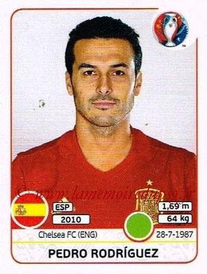 Panini Euro 2016 Stickers - N° 369 - Pedro RODRIGUEZ (Espagne)
