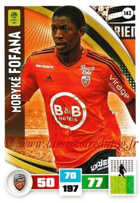 2016-17 - Panini Adrenalyn XL Ligue 1 - N° 143 - Moryké FOFANA (Lorient)