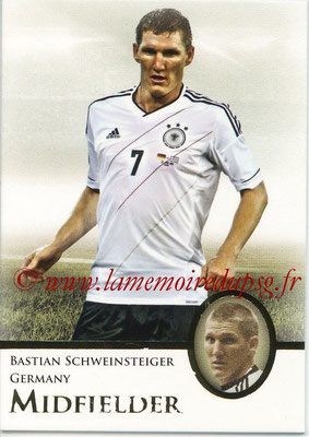 2013 - Futera World Football Unique - N° 054 - Bastian SCHWEINSTEIGER (Allemagne) (Midfielder)