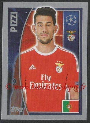 2015-16 - Topps UEFA Champions League Stickers - N° 170 - PIZZI (SL Benfica)
