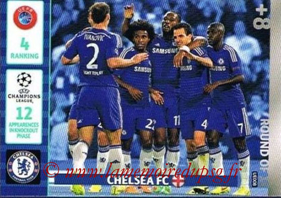 2014-15 - Adrenalyn XL champions League Update edition N° UE008 - Chelsea FC (Round of 16)