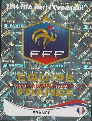 2014 - Panini FIFA World Cup Brazil Stickers - N° 374 - Ecusson France