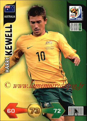 2010 - Panini FIFA World Cup South Africa Adrenalyn XL - N° 030 - Harry KEWELL (Autralie)