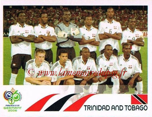 2006 - Panini FIFA World Cup Germany Stickers - N° 131 - Équipe Trinidad et Tobago