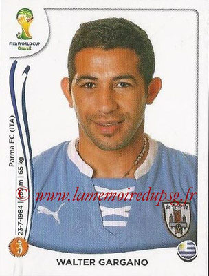 2014 - Panini FIFA World Cup Brazil Stickers - N° 268 - Walter GARGANO (Uruguay)