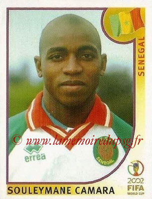 2002 - Panini FIFA World Cup Stickers - N° 060 - Souleymane CAMARA (Sénégal)