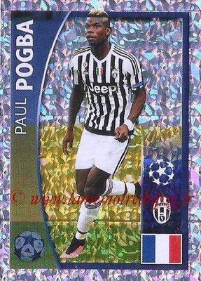 2015-16 - Topps UEFA Champions League Stickers - N° 223 - Paul POGBA (Juventus FC)