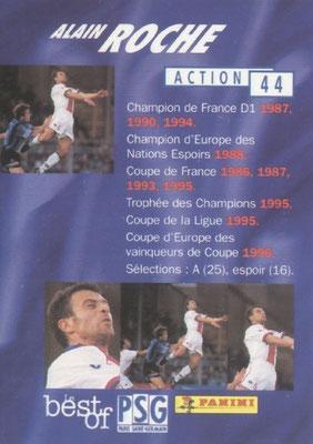 N° 044 - Alain ROCHE (Verso)