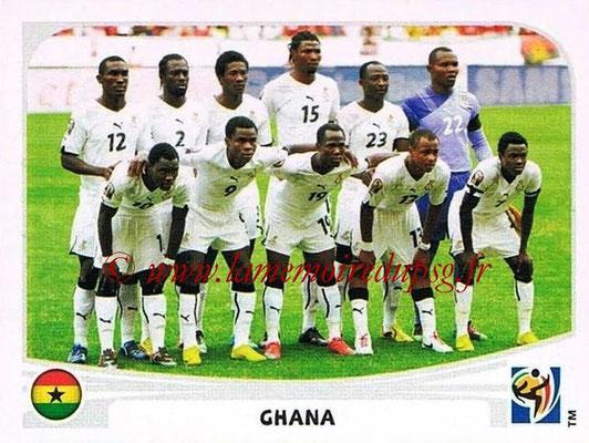 2010 - Panini FIFA World Cup South Africa Stickers - N° 315 - Équipe Ghana