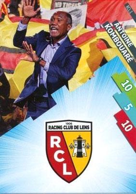 N° 071 - RCL-01 - Antoine KOMBOUARE (1990-95, PSG > 1999-03, Entraîneur réserve PSG > 2009-Déc 11, Entraîneur PSG > 2014-15, Entraîneur Lens)