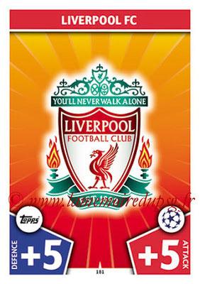 2017-18 - Topps UEFA Champions League Match Attax - N° 181 - Logo Liverpool FC (Club Badge)