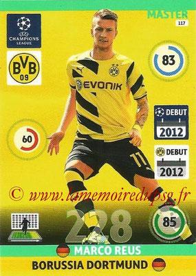 2014-15 - Adrenalyn XL champions League N° 117 - Marco REUS (Borussia Dortmund) (Master)