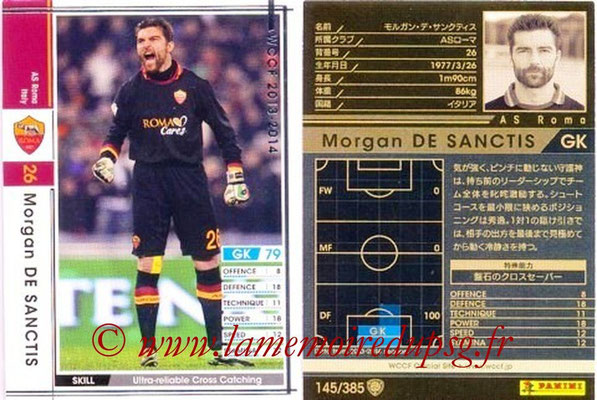 2013-14 - WCCF - N° 145 - Morgan DE SANCTIS (AS Roma)