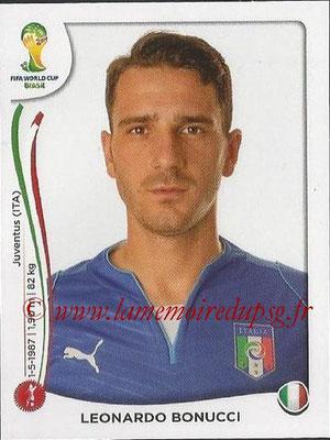 2014 - Panini FIFA World Cup Brazil Stickers - N° 321 - Leonardo BONUCCI (Italie)