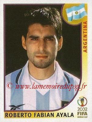 2002 - Panini FIFA World Cup Stickers - N° 389 - Roberto Fabian AYALA (Argentine)