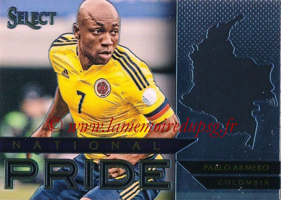 2015 - Panini Select Soccer - N° NP11 - Pablo ARMERO (Colombie) (National Pride)
