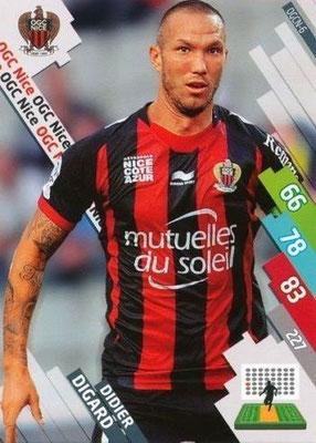 N° 202 - OGCN-06 - Didier DIGARD (2007-08, PSG > 2014-15, Nice)