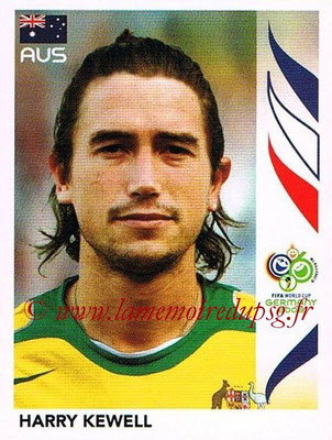2006 - Panini FIFA World Cup Germany Stickers - N° 432 - Harry KEWELL (Australie)