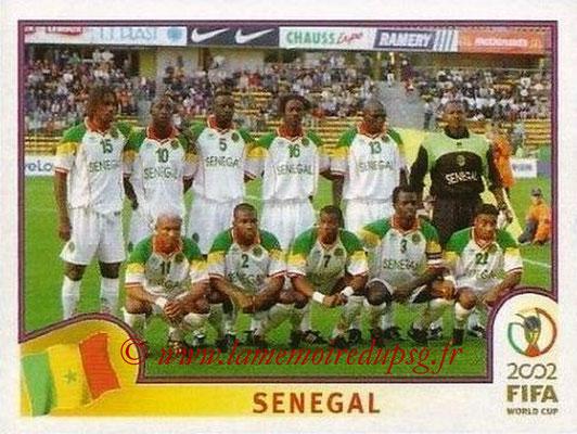 2002 - Panini FIFA World Cup Stickers - N° 043 - Equipe Sénégal