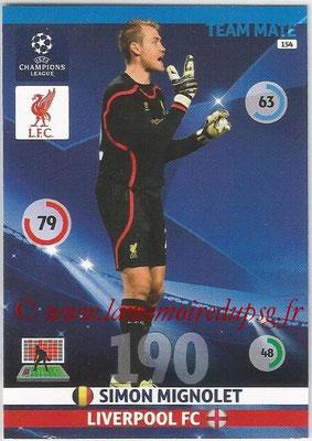 2014-15 - Adrenalyn XL champions League N° 154 - Simon MIGNOLET (Liverpool FC)