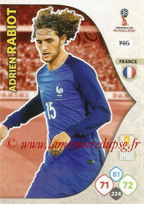 2018 - Panini FIFA World Cup Russia Adrenalyn XL - N° 146 - Adrien RABIOT (France)