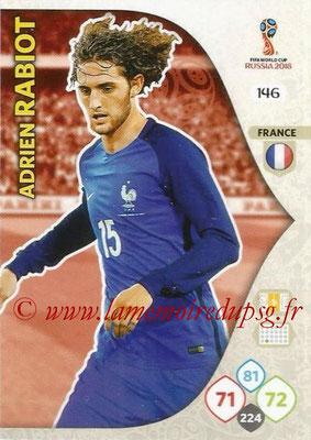 2018 - Panini FIFA World Cup Russia Adrenalyn XL - N° 146 - Adrien RABIOT (France)